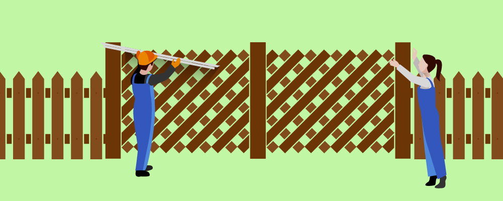 6.Build and Install the Fence Gate