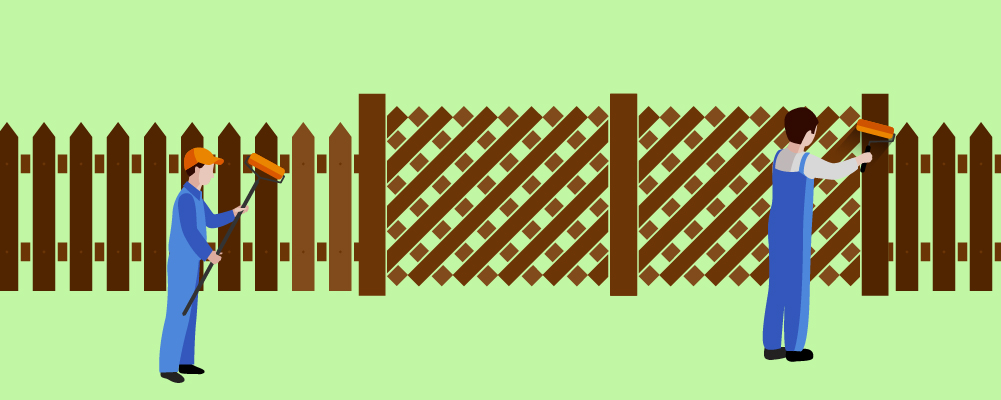 7.Finishing And Maintaining Your Fence
