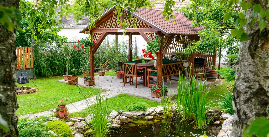 Patio in your garden